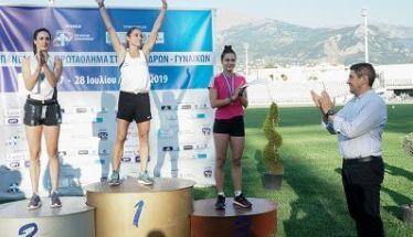 Πρωταθλήτρια στο μήκος η Έφη Κολοκυθά του ΓΑΣ Αλεξάνδρεια