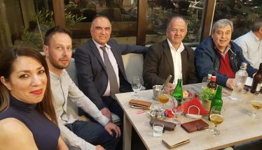 Η Υποψήφια Δήμαρχος Βέροιας Γεωργία Μπατσαρά δεξιώθηκε υποψηφίους και συνεργάτες της