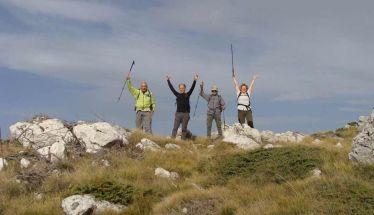Στην κορυφή Καρατάσι με τους Ορειβάτες Βέροιας
