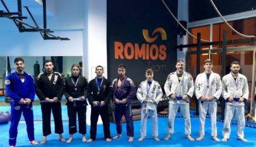 Οκτώ μετάλλια κατέκτησε ο Ρωμιός στην Χαλάστρα στο 7ο κύπελλο Brazillian jiu -jitsu