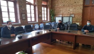 Συνάντηση του Δημάρχου Βέροιας με το Σωματείο Ιδιοκτητών Καφετεριών, Κέντρων Διασκέδασης και Ψυχαγωγίας Βέροιας