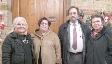 Στο Δημαρχείο της Βέροιας χθες  η Υπουργός Πολιτισμού Λίνα Μενδώνη