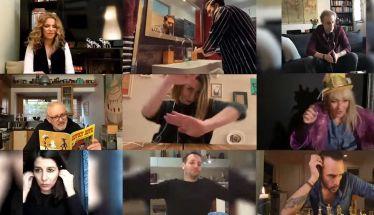 Αγαπημένοι καλλιτέχνες  μας τραγουδούν να μείνουμε σπίτι! Δείτε το βίντεο