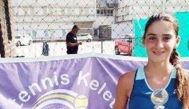 ΤΕΝΙΣ - Κύπελλο φιναλίστ σε δύο τελικούς για την Κάτια Πατσίκα (Εικόνες)
