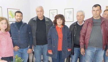 Στον ΕΛΓΑ για τις ζημιές από τις χαλαζοπτώσεις η βουλευτής Φρόσω Καρασαρλίδου