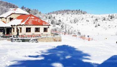 Ανακοίνωση Λειτουργίας Πιστών  και Καρέκλας  στο Χιονοδρομικό Σελίου