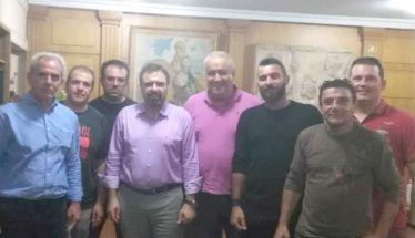 Συνάντηση   της Ομοσπονδίας δενδροκαλλιεργητών Κ.Δ. Μακεδονίας   με τον Υπουργό