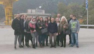 ΔΙΕΚ Βέροιας:  Εκπαιδευτική επίσκεψη στον Υδροηλεκτρικό Σταθμό Σφηκιάς