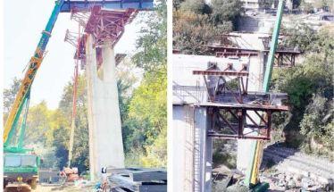 Ήρθε ο γερανός και «στήνεται» η Γέφυρα Κούσιου