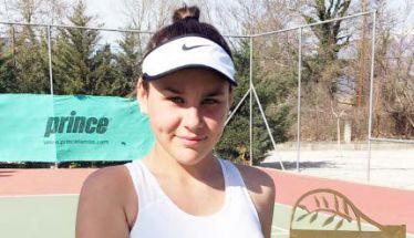 ΤΕΝΙΣ - Η Τατιάνα Γιτοπούλου νικήτρια του Ε3 Κ14 στην Αριδαία