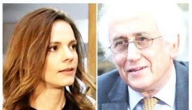 Ο Ρουπακιώτης υπηρεσιακός υπουργός Εσωτερικών  και η Αχτσιόγλου εκπρόσωπος Τύπου του ΣΥΡΙΖΑ