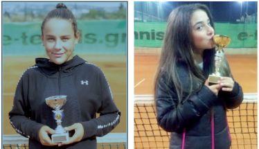 SARANTOVRISES TENNIS ACADEMY - Σημαντικές επιτυχίες των αθλητών της Ακαδημίας Τατιάνας Γιτοπούλου, Κάτιας Πατσίκα, Ελένης Λαζαρίδου και Τάσου Ντιβανίδη
