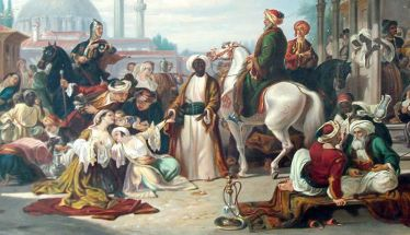 Το ΡΟΥΜΛΟΥΚΙ κατά την επανάσταση - Η ΠΟΡΕΙΑ ΓΥΝΑΙΚΟΠΑΙΔΩΝ ΓΙΑ ΤΑ ΣΚΛΑΒΟΠΑΖΑΡΑ