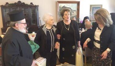Π. Παναγιώτη Χαλκιάς, Ειρήνη Δουλγέρογλου: Δύο παλαίμαχοι λάτρεις του Γηροκομείου