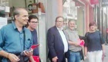 Για το πρόγραμμα του ΣΥΡΙΖΑ ενημέρωσαν την Αγορά, στελέχη του κόμματος, Καρασαρλίδου και Μαρκούλης