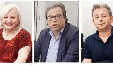 Οι  υποψήφιοι Δήμαρχοι  Μπατσαρά, Μαρκούλης και Μελιόπουλος ζωντανά χθες στο στούντιο του ΑΚΟΥ 99.6