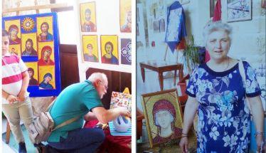 Με «χρώμα Βυζαντίου» οι καρποί της τέχνης τους