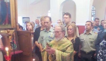 Με την πρέπουσα τιμή και λαμπρότητα η ύψωση του Τιμίου Σταυρού στο Γηροκομείο Βέροιας