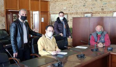 Υπογραφή σύμβασης από τον Δήμο Βέροιας για κατεδάφιση επικίνδυνων και αυθαίρετων κτισμάτων