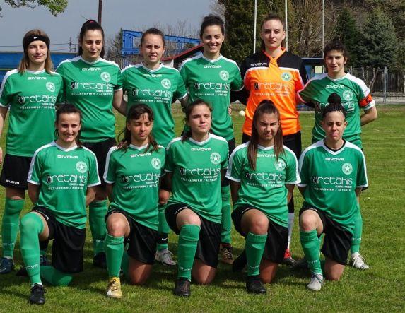 Α' Εθνική γυναικών .Ήττα για τα κορίτσια της Αγ. Βαρβάρας 0-2 από τα Τρίκαλα 2011