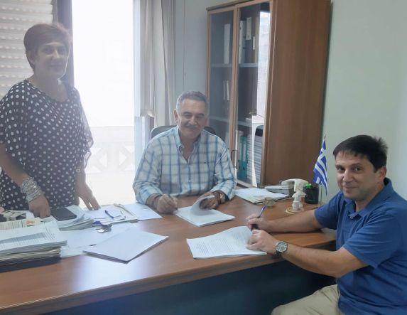 Υπογραφή νέων συμβάσεων από την ΑΝ. ΗΜΑ