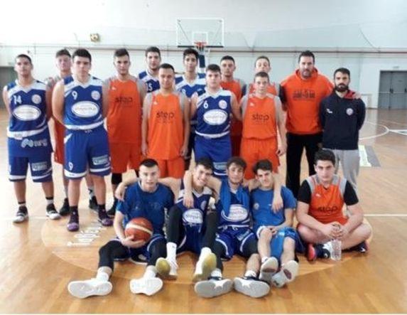 Πρωτάθλημα μπάσκετ Εφήβων 7η αγωνιστική . Κούπα Κιλκίς- ΑΟΚ Βέροιας  50-99