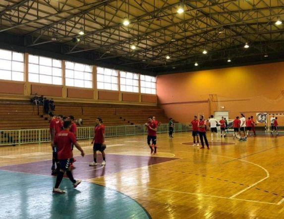 Επανεκκίνηση προπονήσεων για την ανδρική ομάδα χαντ μπολ του Φιλίππου  Βέροιας