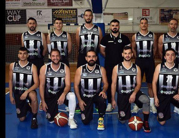 Γ' Εθνική μπάσκετ Το τεχνικό επιτελείο και το ρόστερ των Αετών Βέροιας. Στην Βέροια την Κυριακή ( 4.15 ) με Γαλάζιους