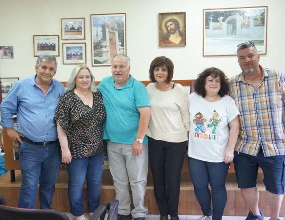 Τα προβλήματα των ελεύθερων επαγγελματιών και εμπόρων συζήτησε η Φρόσω Καρασαρλίδου με τις Διοικήσεις τους