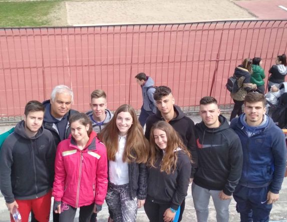 Συμμετοχή του  5ου ΓΕΛ Βέροιας στους αγώνες στίβου  Λυκείων, Γυμνασίων - Οι μαθητές που διακρίθηκαν