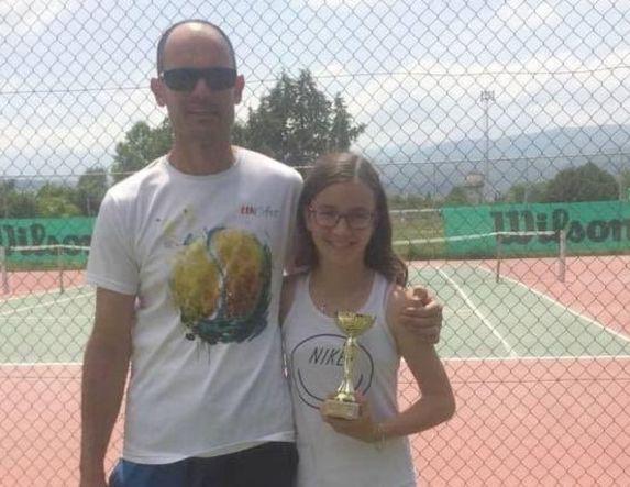 Μανωλοπούλου, Νέγκας του ΑΛΕΞΑΝΔΡΟΥ στους τελικούς τένις Ε3