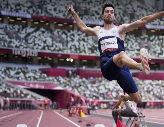 Χρυσό μετάλλιο ο Μίλτος Τεντόγλου στο μήκος με άλμα στα 8,41μ.