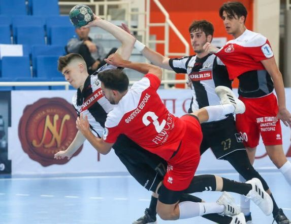 Handball Premier . Καλύτερος ο ΠΑΟΚ 34-28 τον Φίλιππο στην Βέροια .