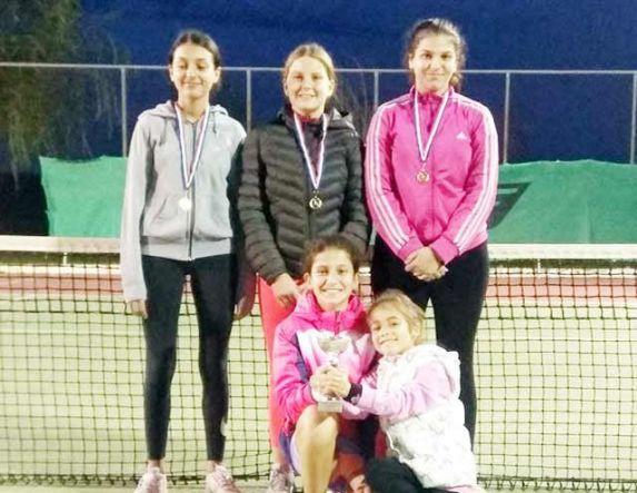 Πρώτη σε αγώνες τένις η Βεροιώτισσα αθλήτρια Σταματία - Μαρία Φώτη