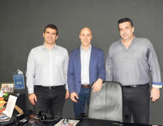Ο υποψήφιος ευρωβουλευτής της ΝΔ  Γιώργος Αμυράς επισκέφθηκε τον ΛΑΟ