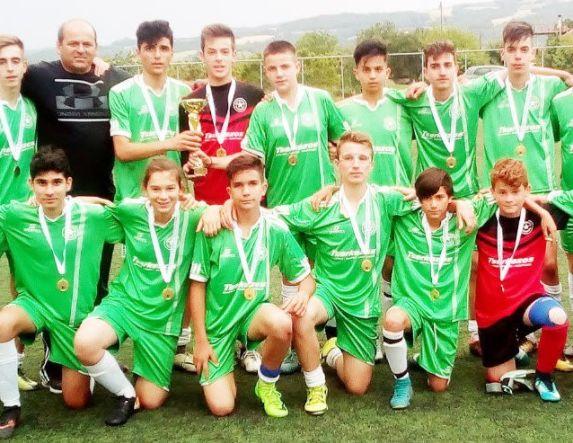 Κατάκτηση 2ης θέσης από τον Αγρ. Αστέρα Αγ. Βαρβάρας στο Παιδικό Πρωτάθλημα ΕΠΣ Ημαθίας