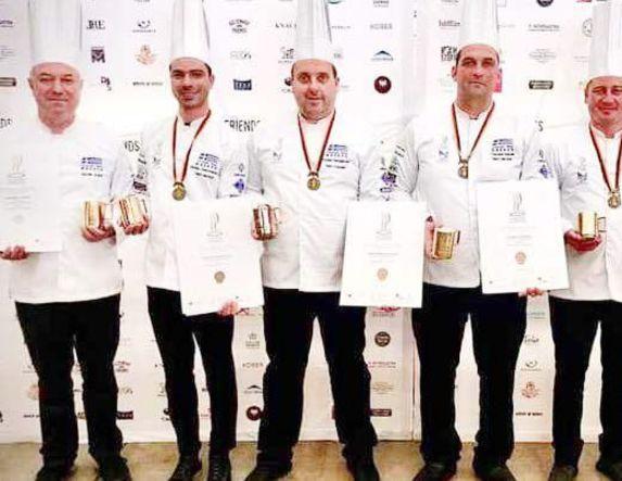 Πήραν το χάλκινο μετάλλιο στους Ολυμπιακούς  Αγώνες Μαγειρικής, για τα μοναδικά πιάτα  της μακεδονικής κουζίνας
