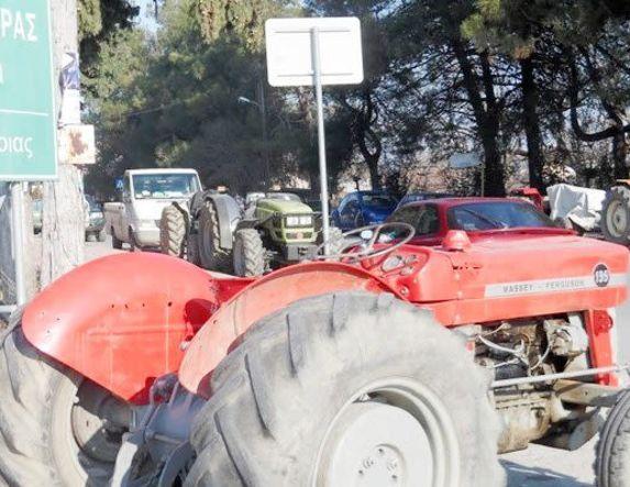 Κλείνει σήμερα το μεσημέρι και ο κόμβος της Κουλούρας  από τους αγρότες της Ημαθίας
