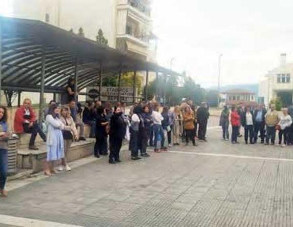 Συγκέντρωση και πορεία εκπαιδευτικών κατά του νομοσχεδίου χθες το απόγευμα στη Βέροια  -Το παρών έδωσε η βουλευτής του ΣΥΡΙΖΑ Φρ. Καρασαρλίδου