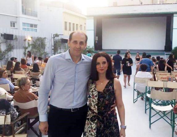 O Απ. Βεσυρόπουλος στην πρεμιέρα  του θερινού ΣΤΑΡ