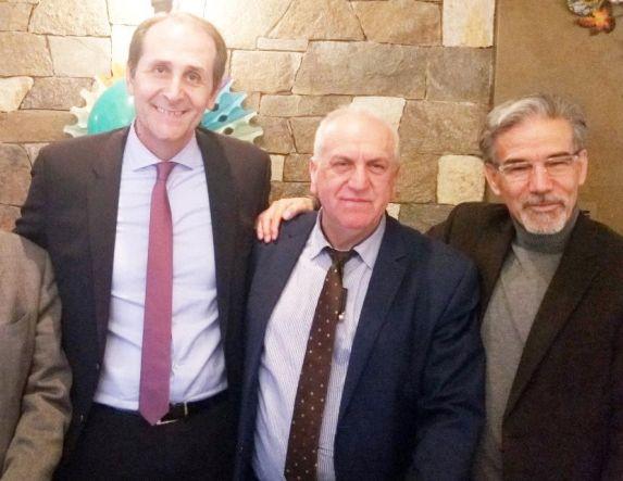 Με δικηγόρους της Ημαθίας χθες το μεσημέρι ο Απ. Βεσυρόπουλος