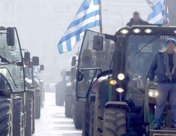 Κλείνουν την Εγνατία, τα Τέμπη, και την ΠΑΘΕ στην Κατερίνη, σήμερα οι αγρότες