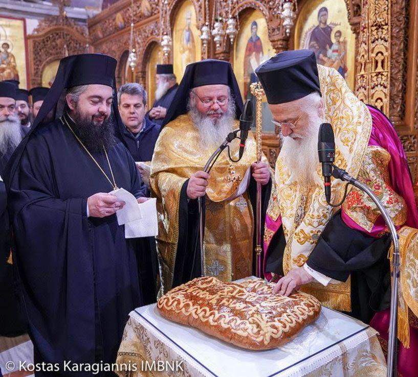 Κατάμεστος ο Άγιος Αντώνιος της Βέροιας στην αλλαγή του χρόνου