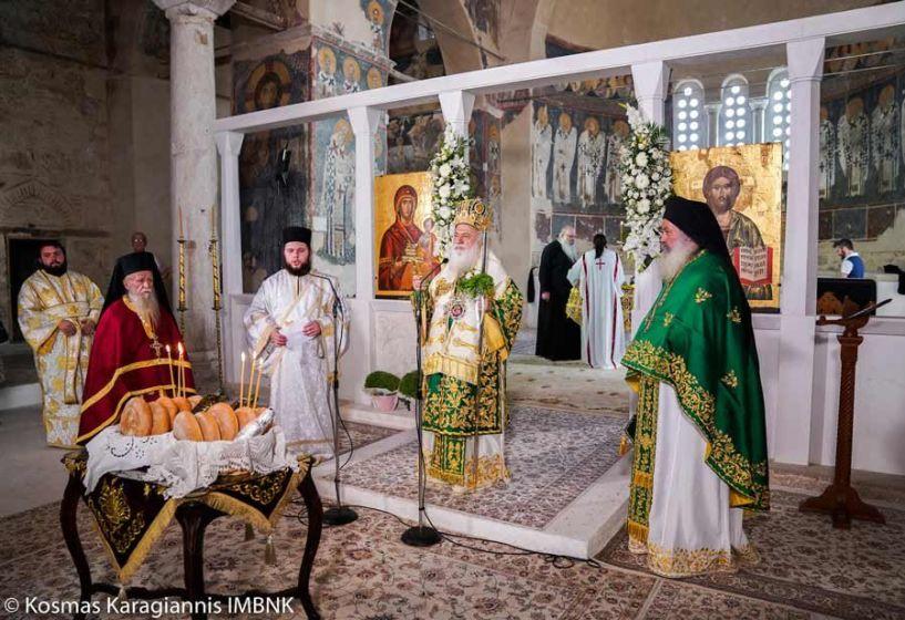Θεία Λειτουργία πραγματοποίησε η Θρακική Εστία Βέροιας