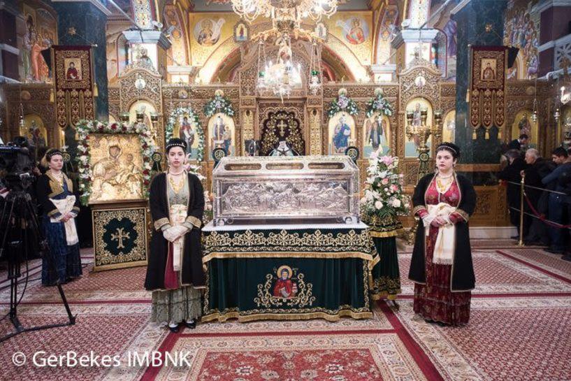 Ιερές ακολουθίες για την εορτή του Αγ. Αντώνιου, Πολιούχου Βέροιας