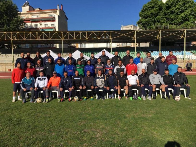 Αρκετοί Ημαθιώτες στην σχολή ποδοσφαίρου UEFA B στην Έδεσσα