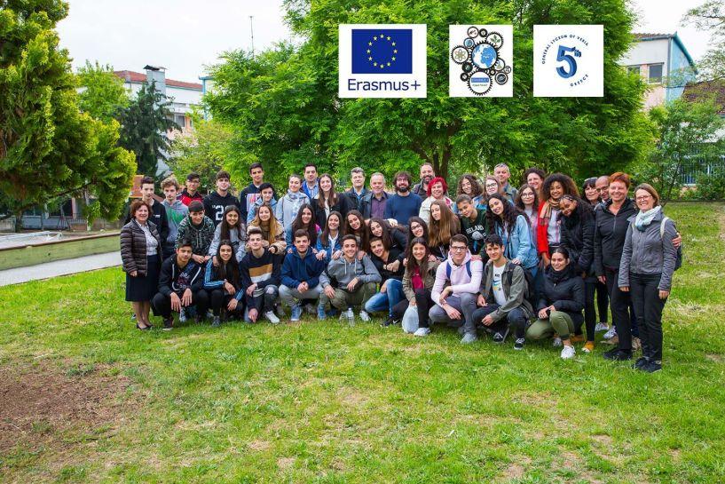 Ευρωπαϊκές σχολικές αποστολές στο 5ο ΓΕΛ ΒΕΡΟΙΑΣ, στο πλαίσιο του προγράμματος Erasmus+