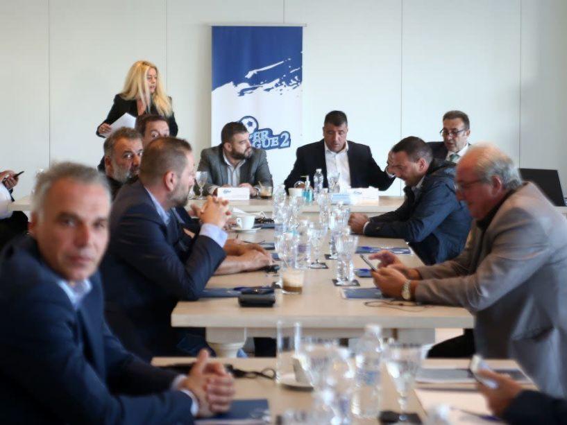 SL2: Συνάντηση με Αυγενάκη, Γεραπετρίτη για ΕΡΤ και έσοδα από το στοίχημα