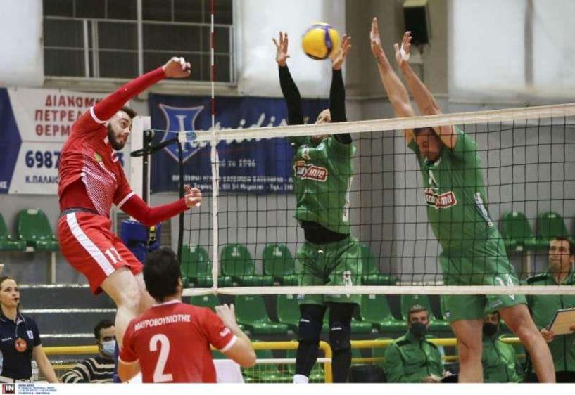 Ηellenic Volleyball League Επέστρεψε δυναμικά ο Παναθηναϊκός, 3-0  σετ τον Φίλιππο Βέροιας