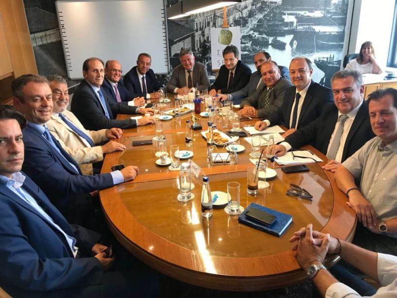 Συνάντηση ΣΕΒΕ με τν Υπουργό Οικονομικών Χρ. Σταϊκούρα